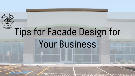 Tips for Facade Design for Your Business